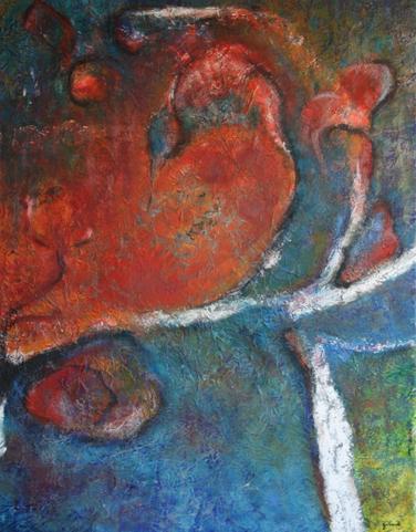 peinture-cecile-girard-entrelacs-II